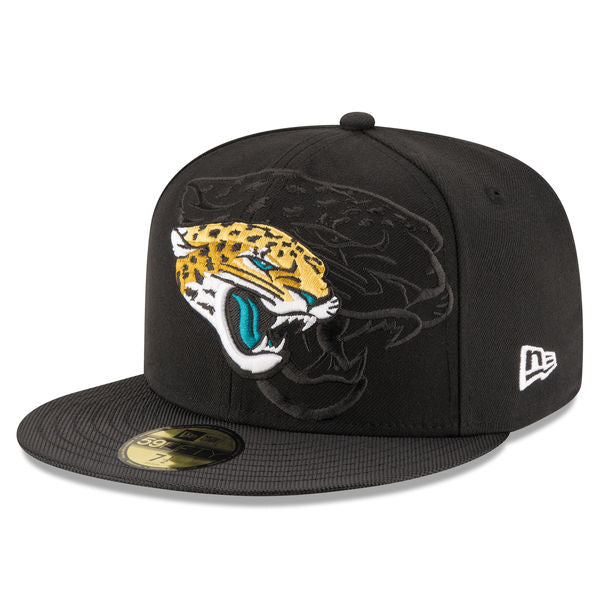 New Era Men s Jacksonville Jaguars 2016 Official Sideline 59FIFTY Fitted Hat cc9053148