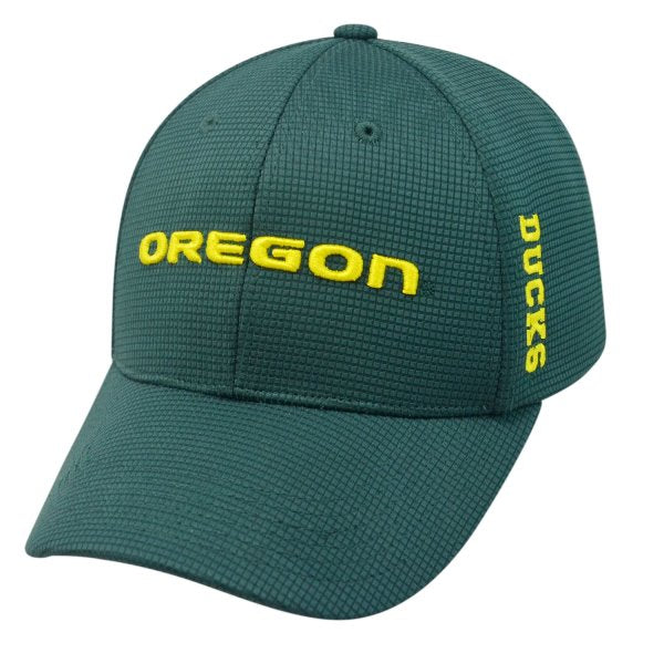 Top Of The World NCAA Men's Oregon Ducks Booster Plus Memory-Fit Cap