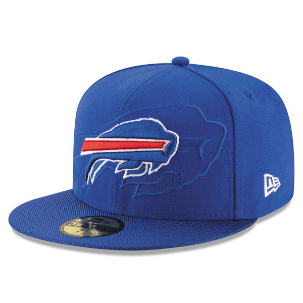 New Era Men's Buffalo Bills 2016 Official Sideline 59FIFTY Fitted Hat