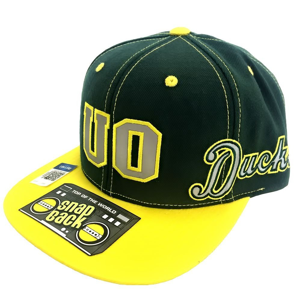Top Of The World NCAA Men's Oregon Ducks Reflector Snap Back Hat