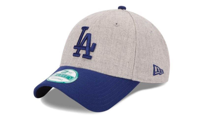 New Era MLB Men's Los Angeles Dodgers The League Heather 9FORTY Adjustable Hat