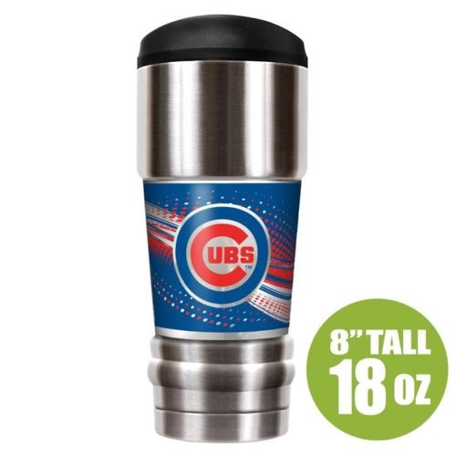 Great American Products MLB Chicago Cubs The MVP Insulated Tumbler Stainless Steel 18oz