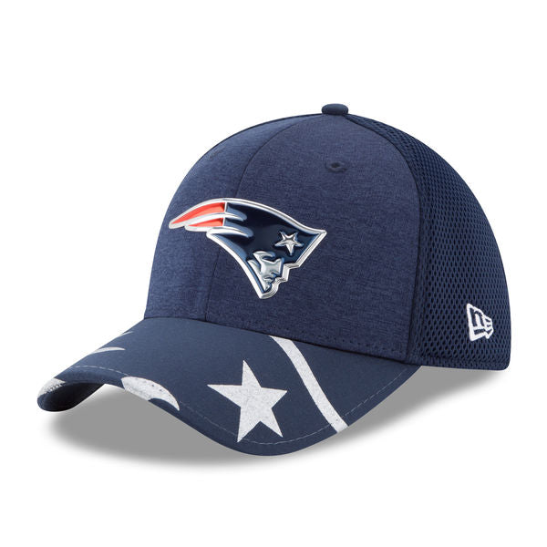 New Era NFL Men's New England Patriots NFL 17 On Stage 39THIRTY Flex Hat