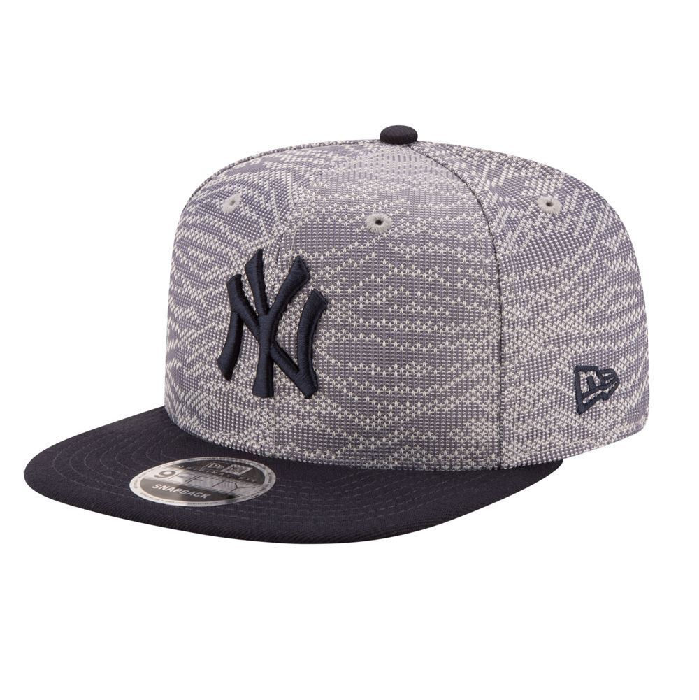New Era MLB Men's New York Yankees Weave Mix 9FIFTY Adjustable Snapback Hat