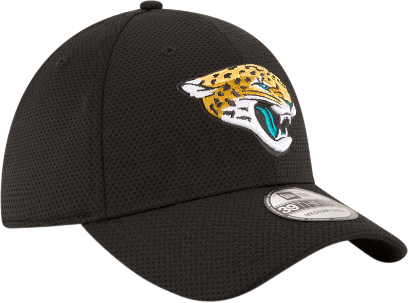 New Era NFL Men's Jacksonville Jaguars Sideline Tech 39THIRTY Flex Hat
