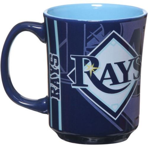The Memory Company MLB Tampa Bay Rays Reflective Mug Navy 11 oz