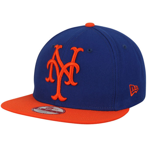 New Era MLB Men's New York Mets Logo Grand Redux 9FIFTY Snapback Hat