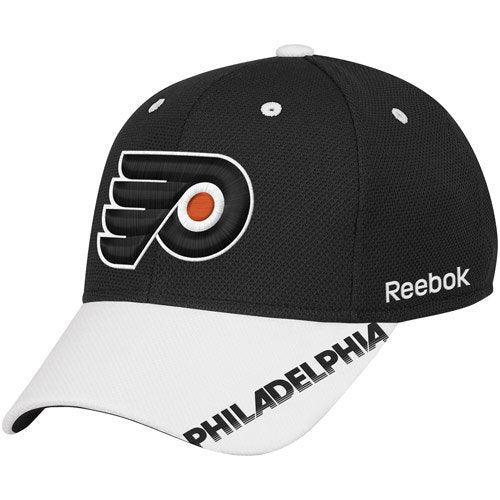 Reebok NHL Men's Philadelphia Flyers Center Ice Practice Stretch Fit Hat