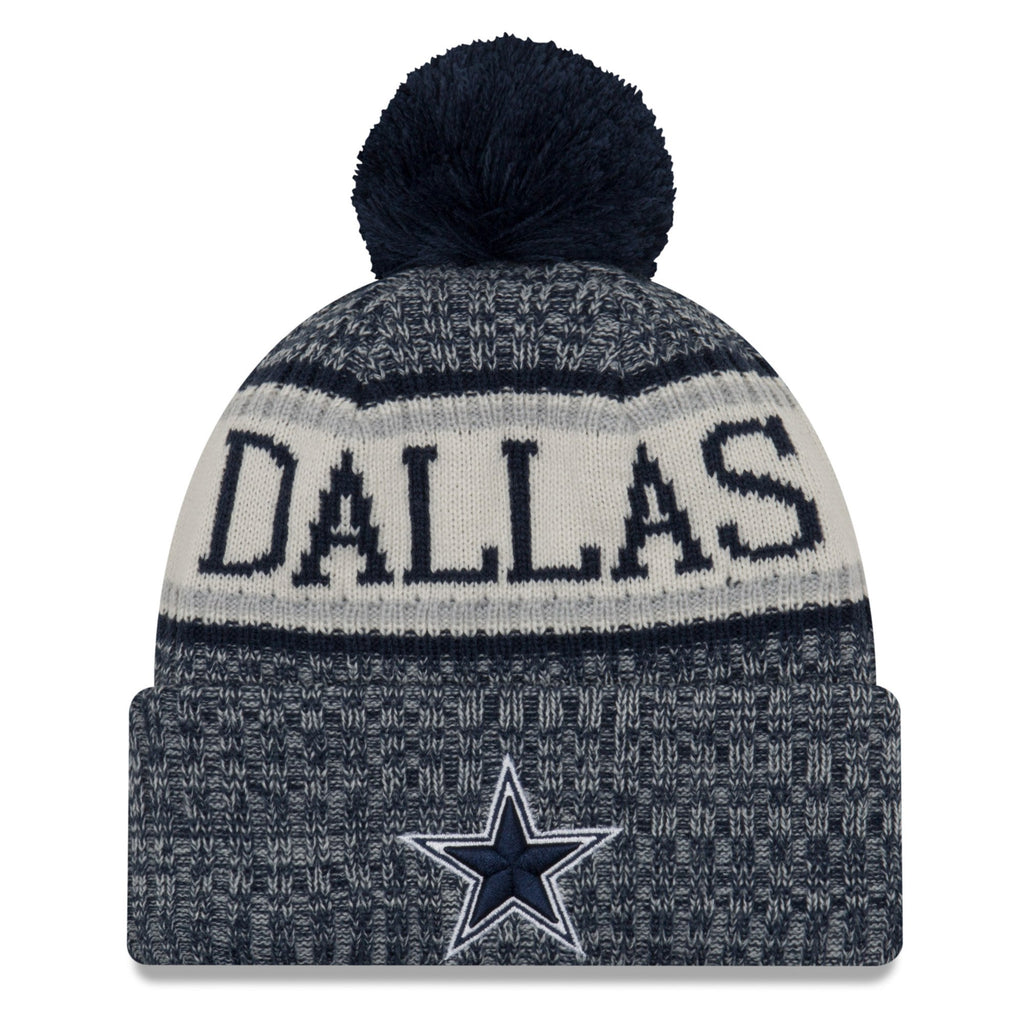 New Era NFL Dallas Cowboys Sideline Cold Weather Official Sport Knit Hat 3a4bdd378