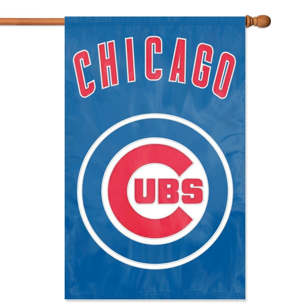 Party Animal MLB Chicago Cubs 28 x 44 House Banner Flag