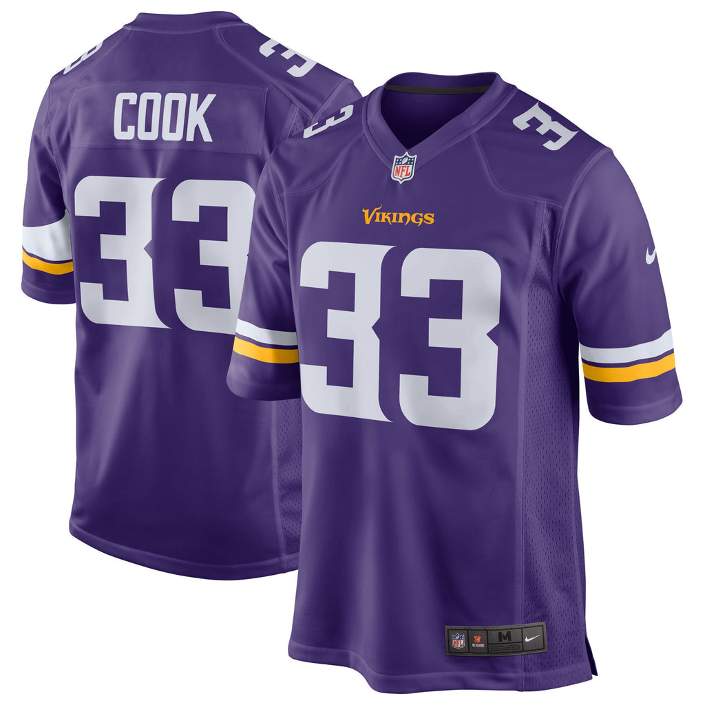Nike NFL Men's ##33 Dalvin Cook Minnesota Vikings Game Jersey