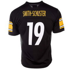 Outerstuff NFL Youth #19 JuJu Smith-Schuster Pittsburgh Steelers Performance Fashion Jersey