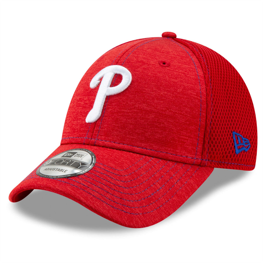 New Era MLB Men's Philadelphia Phillies NE Team Tread 9FORTY Adjustable Hat