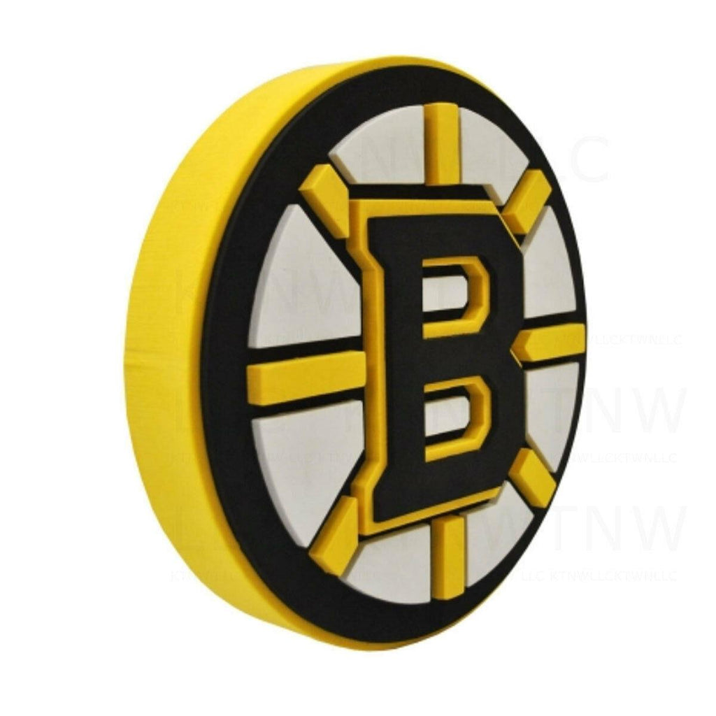 Foam Fanatics NHL Boston Bruins 3D Foam Logo Sign with Strap