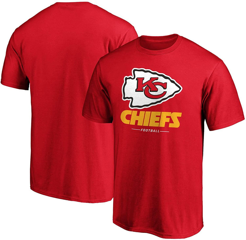 Fanatics Branded NFL Men's Kansas City Chiefs Team Lockup Logo T-Shirt