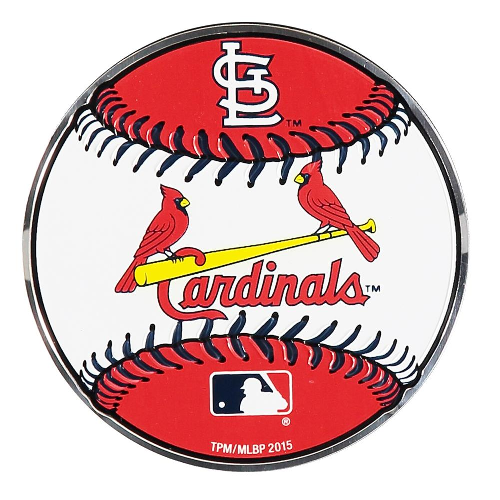 Team Promark MLB St. Louis Cardinals Baseball Team Auto Emblem