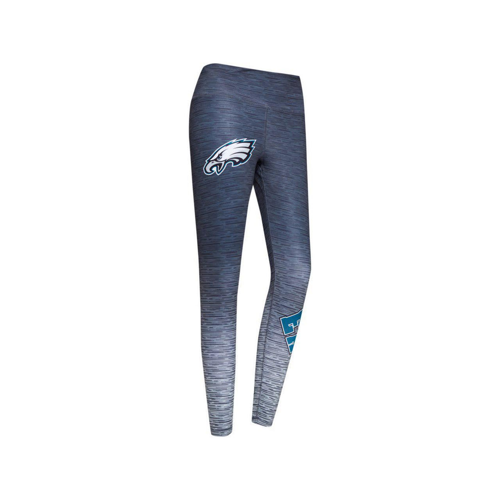Concept Sports NFL Womens Philadelphia Eagles Knit Sublimated Legging Grey