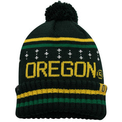 Top Of The World NCAA Men's Oregon Ducks Barometer Cuffed Knit Beanie