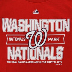 Majestic MLB Men's Washington Nationals Authentic Experience T-Shirt