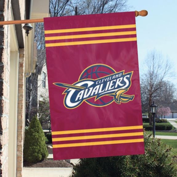 "Party Animal NBA Cleveland Cavaliers 28"" x 44"" House Banner Flag"