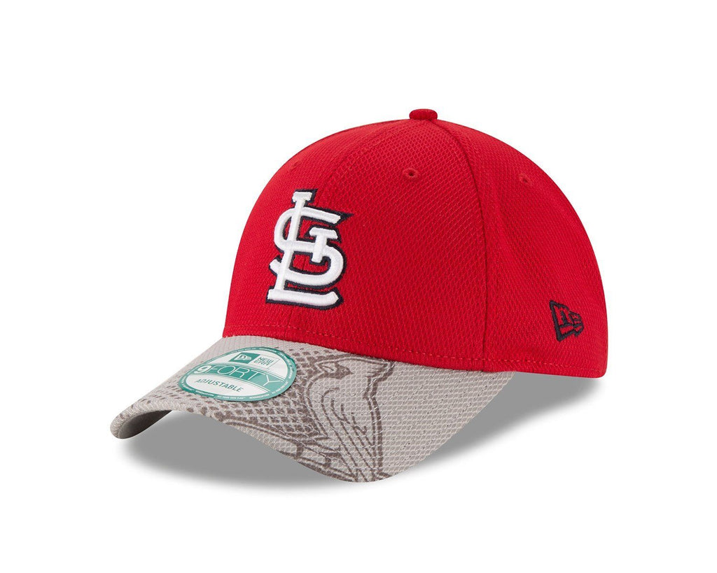 New Era MLB Men's St. Louis Cardinals Team Slide 9FORTY Adjustable Hat