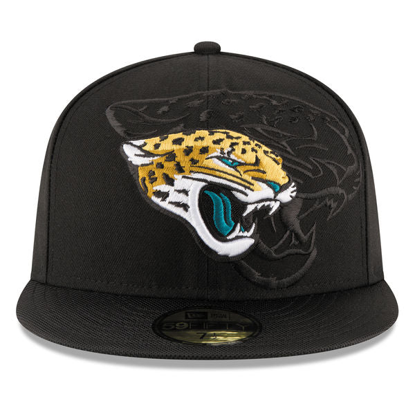... New Era Men s Jacksonville Jaguars 2016 Official Sideline 59FIFTY  Fitted Hat ... 76dcd312a