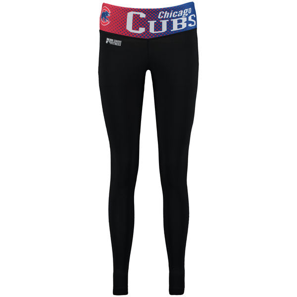 Concepts Sport MLB Women's Chicago Cubs Dynamic Leggings