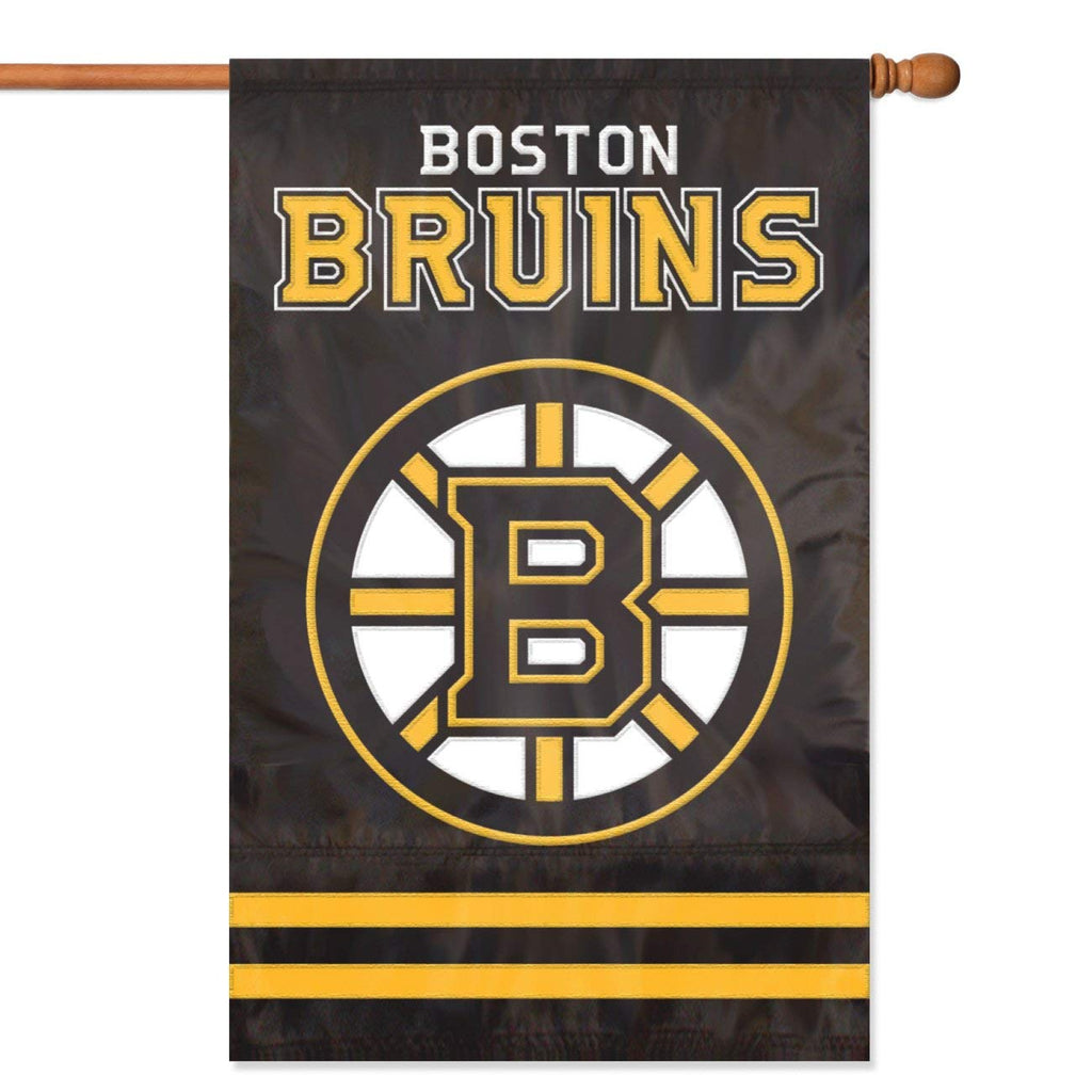 "Party Animal NHL Boston Bruins 28"" x 44"" House Banner Flag"