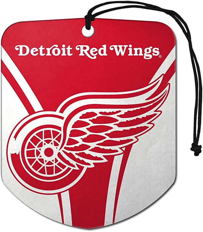 Fanmats NHL Detroit Red Wings Shield Design Air Freshener 2-Pack