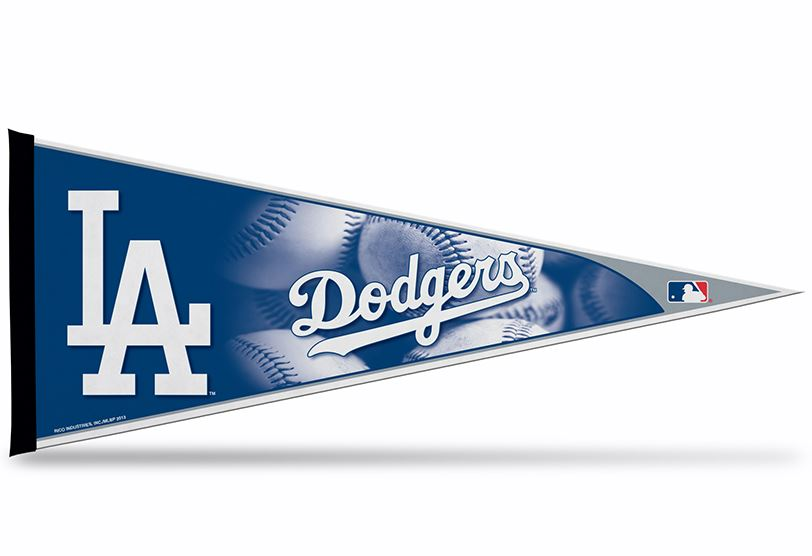 "Rico MLB Los Angeles Dodgers Pennant 12""x30"""
