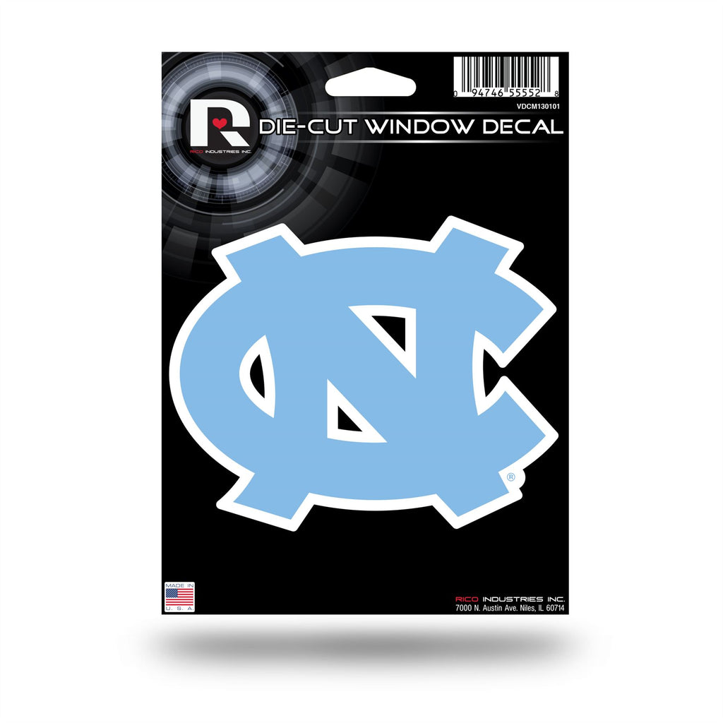 Rico NCAA North Carolina Tar Heels Die Cut Auto Decal Car Sticker Medium VDCM