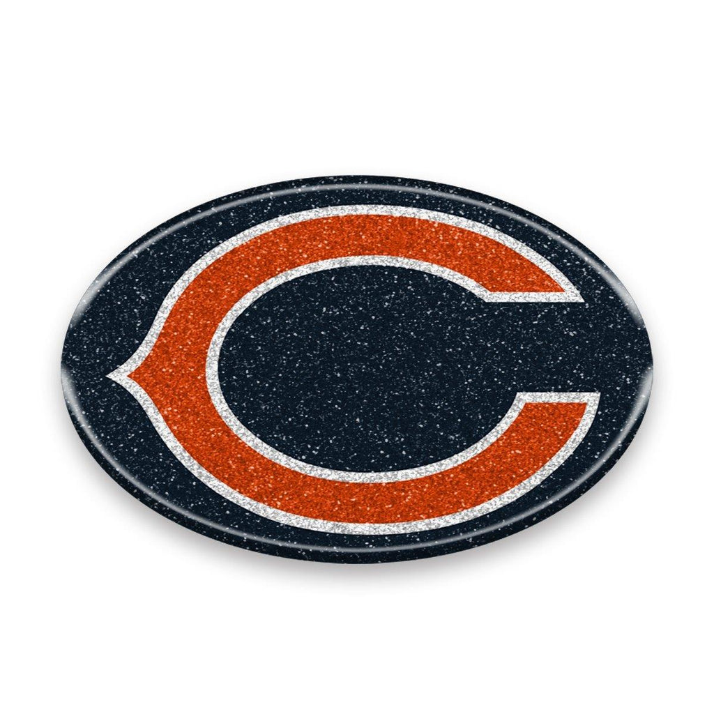 Team Promark NFL Chicago Bears Team Flexible Bling Auto Emblem