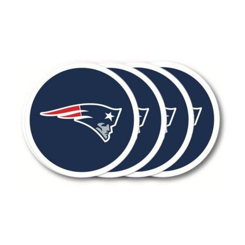 Duck House NFL New England Patriots Coaster Set 4-Pack