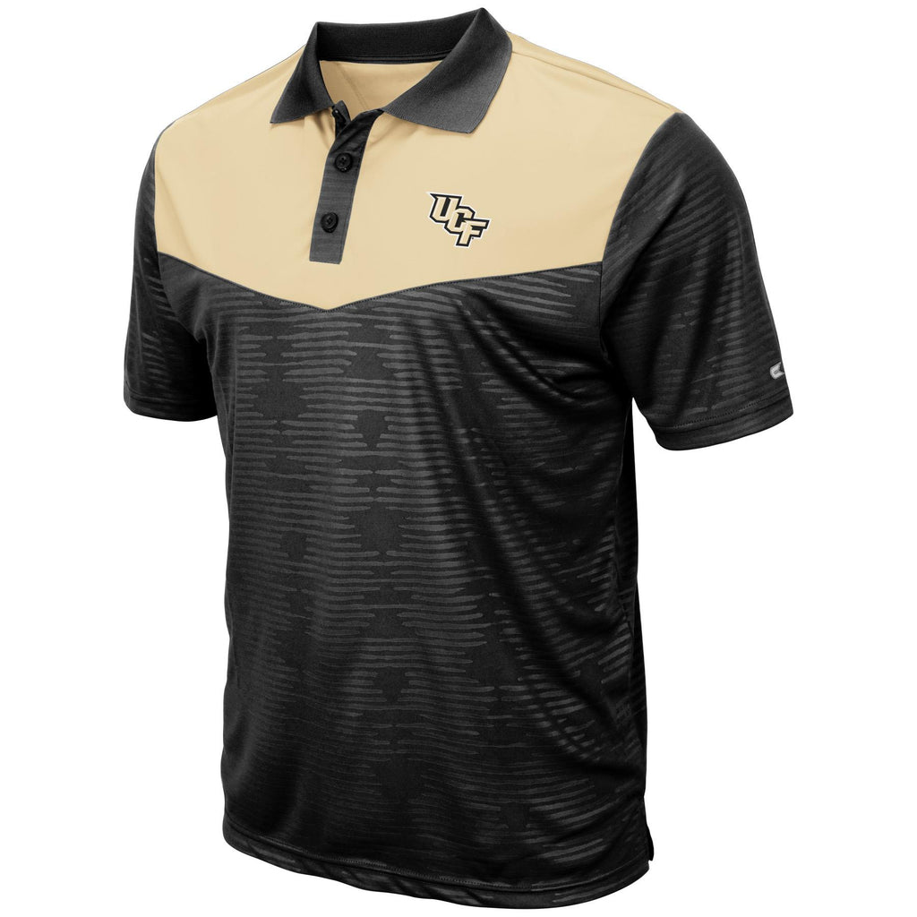 Colosseum NCAA Men's Central Florida Knights (UCF) Bart Polo
