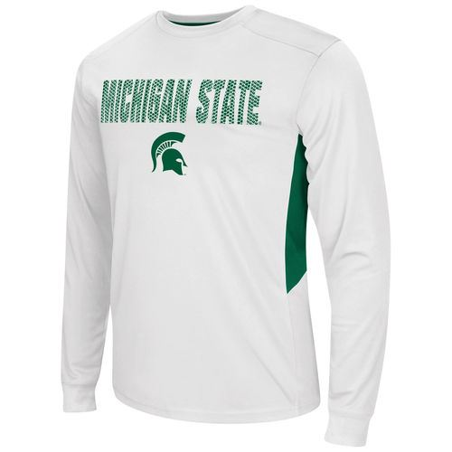 Colosseum NCAA Men's Michigan State Spartans Trainer Long Sleeve T-Shirt