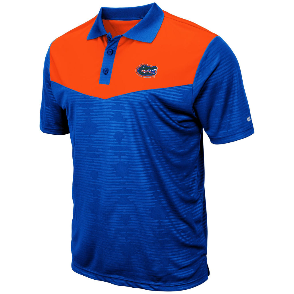 Colosseum NCAA Men's Florida Gators Bart Polo