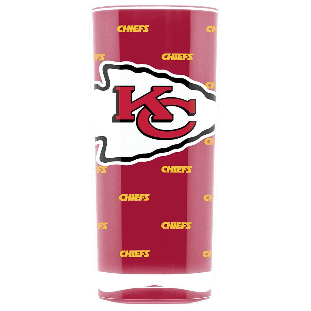 Duck House NFL Kansas City Chiefs Insulated Square Tumbler Cup 16 oz.