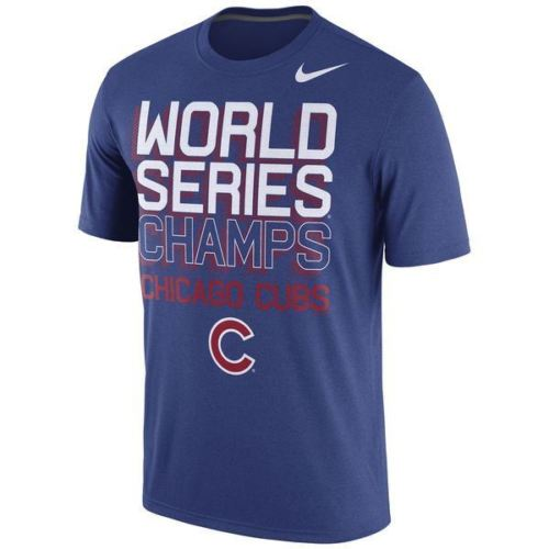 Nike MLB Men's Chicago Cubs 2016 World Series Champions Celebration 3D T-Shirt