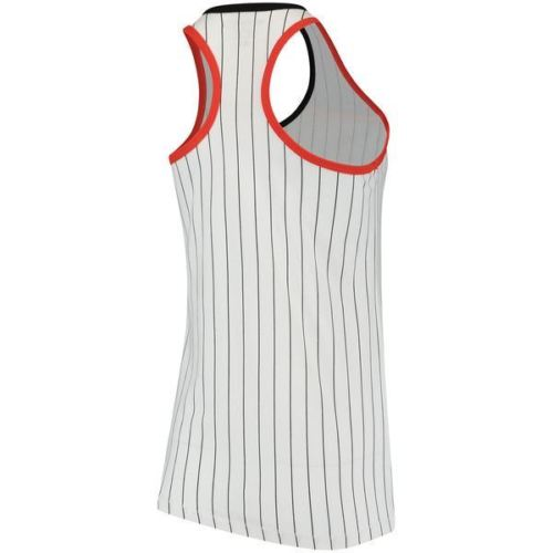 5th & Ocean MLB Women's Miami Marlins Pinstripe Racerback Tank Top