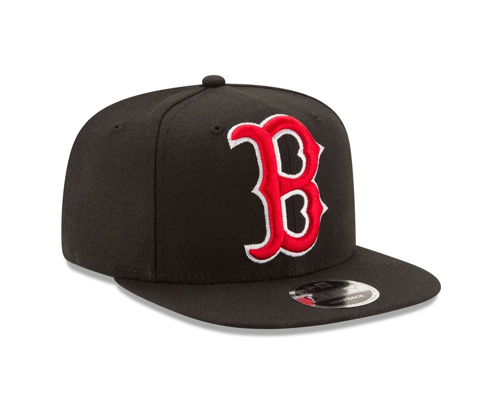 New Era MLB Men's Boston Red Sox Logo Grand 9FIFTY Snapback Hat