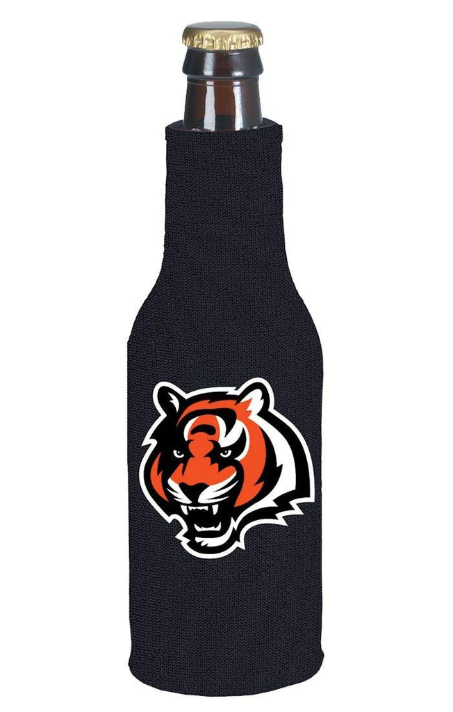 Kolder NFL Cincinnati Bengals Logo Neoprene Bottle Suit Black 12 oz.