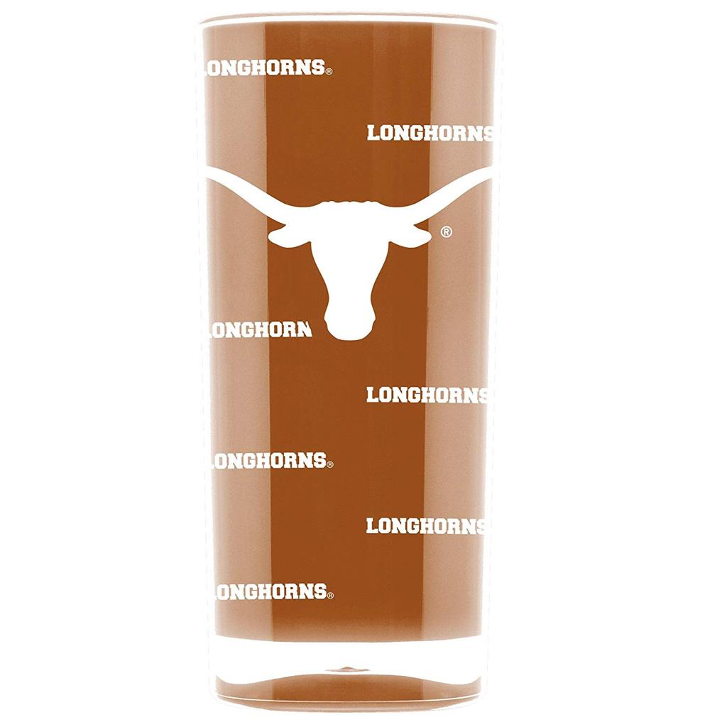 Duck House NCAA Texas Longhorns Insulated Square Tumbler Cup 16 oz