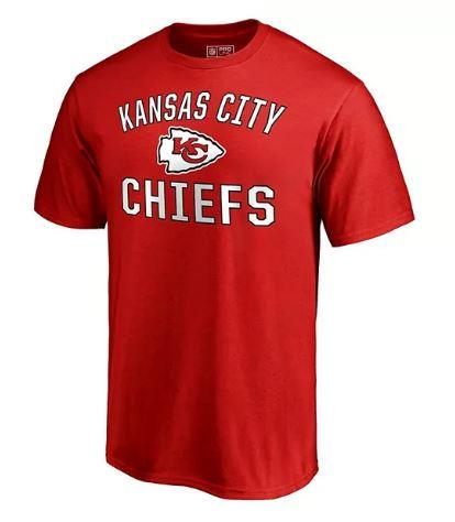 Fanatics Branded NFL Men's Kansas City Chiefs Victory Arch T-Shirt