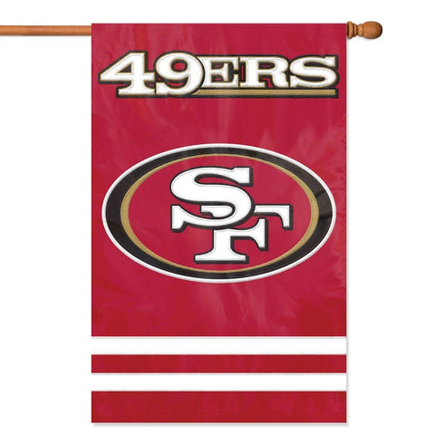 Party Animal NFL San Francisco 49ers 28 X 44 House Banner Flag Sportzzone