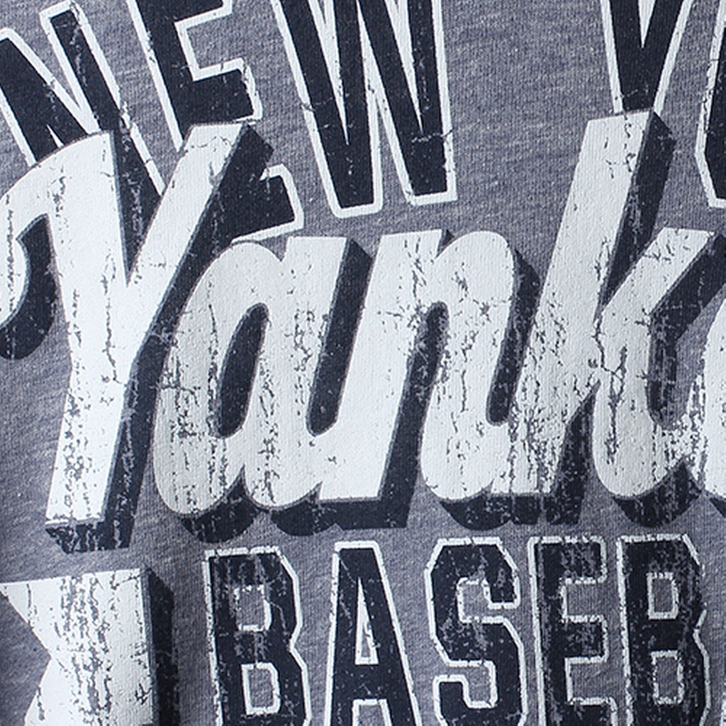 5th & Ocean MLB Women's New York Yankees Jersey Tri-blend Pullover Hoodie