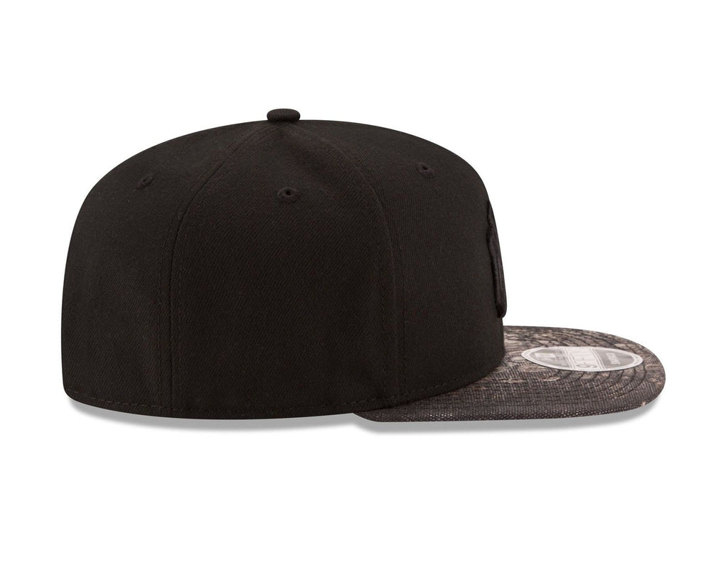 New Era MLB Men's New York Yankees Croc Canvas 9FIFTY Snapback Hat