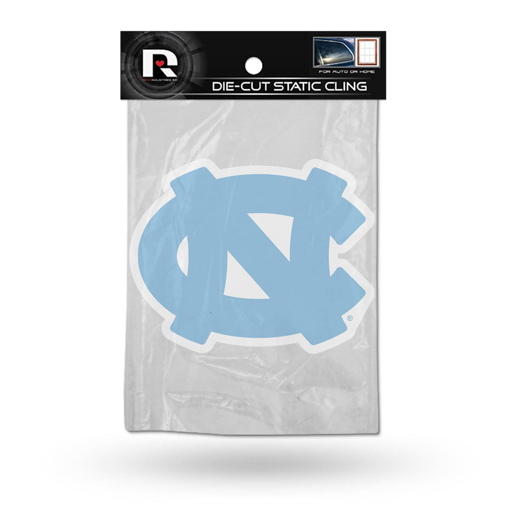 Rico NCAA North Carolina Tar Heels Shape Cut Static Cling Auto Decal Car Sticker Medium SSCM