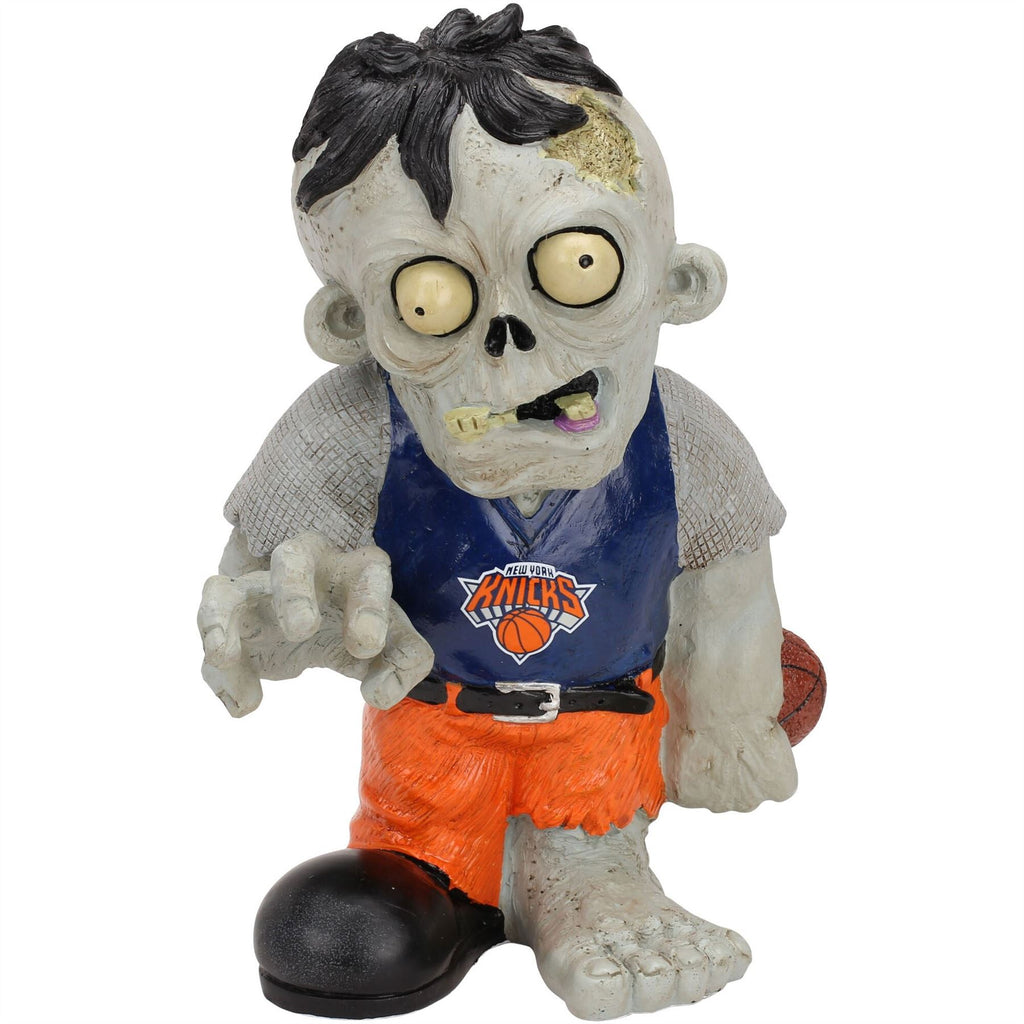 Forever Collectibles NBA New York Knicks Resin Zombie Figurine 8.5-Inch