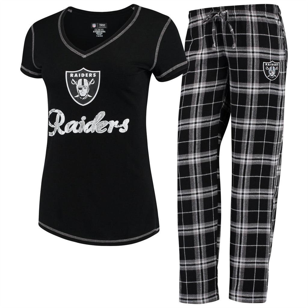 1329260d Concept Sports NFL Women's Oakland Raiders Duo Shirt And Pants ...