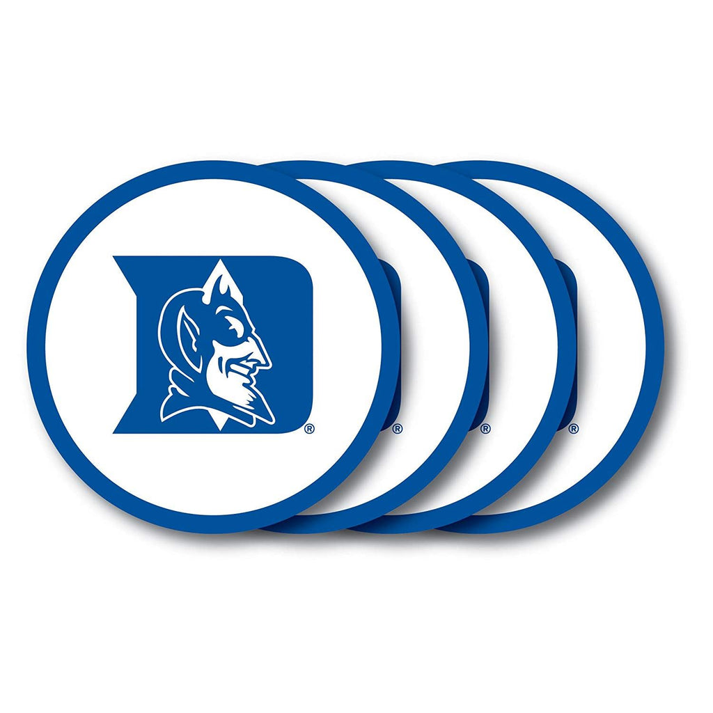 Duck House NCAA Duke Blue Devils Coaster Set 4-Pack